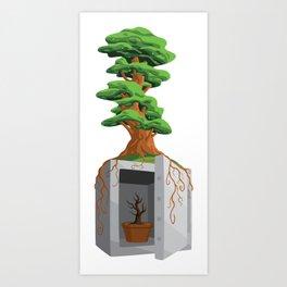Unlocking Growth Art Print