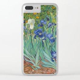 Irises Clear iPhone Case