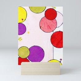 Circling around Mini Art Print