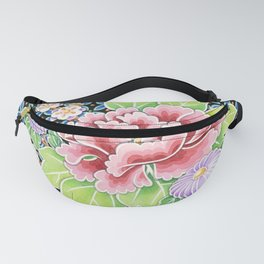 Brocade Bouquet Fanny Pack
