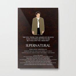 Supernatural - Castiel Metal Print