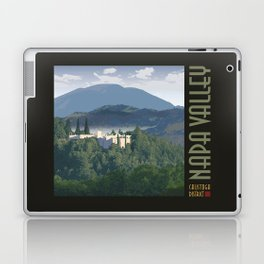 Napa Valley - Sterling Winery, Calistoga District Laptop & iPad Skin
