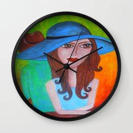 retrato Wall Clock