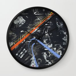 Caught Up In It Wall Clock