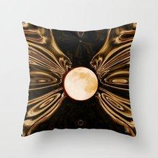 Orb of Night Throw Pillow