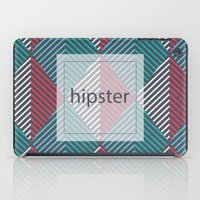 hipster iPad Cases featuring Hipster by eARTh
