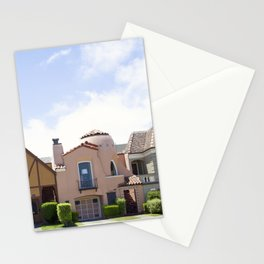 San Francisco beautiful houses Stationery Cards