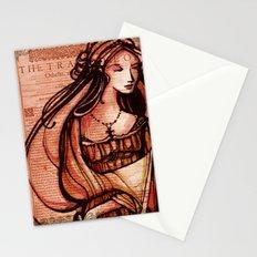 Desdemona - Othello - Shakespeare Folio Illustration  Stationery Cards