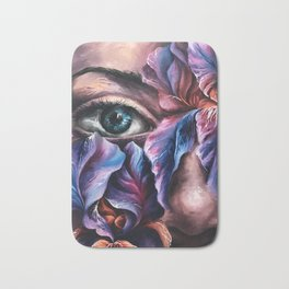 """""""Guarded"""" Painting Bath Mat"""