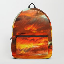 Beautiful Godrays Through Clouds Ultra HD Backpack