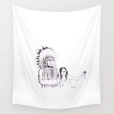 Please Smile Wall Tapestry