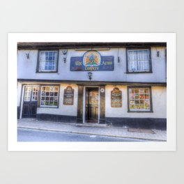 The Coopers Arms Pub Rochester Art Print