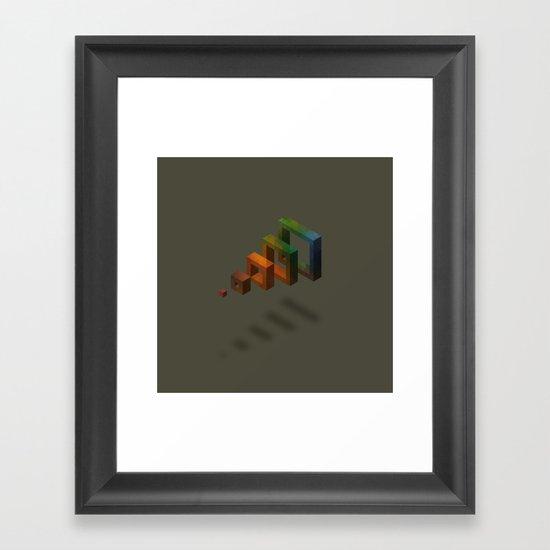 Volume Framed Art Print