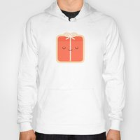 gift card Hoodies featuring Gift by kim vervuurt