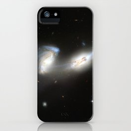 Galaxy merger iPhone Case