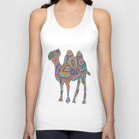 camel Tank Tops featuring Camel  by Shanaabird