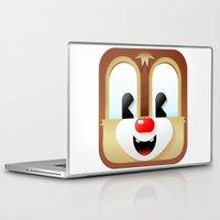 dale cooper Laptop & iPad Skins featuring Dale cutie by designoMatt