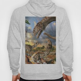 Jurassic dinosaurs being born Hoody