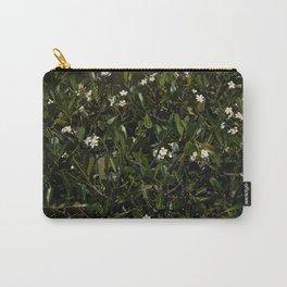 Bonitu i Flores Plumeria Carry-All Pouch