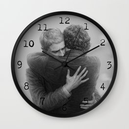 John and Sherlock Wall Clock