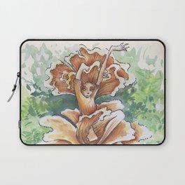 Empire of Mushrooms: Cantharellus cibarius Laptop Sleeve