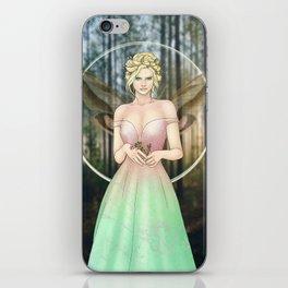 Spring Woodland Fairy iPhone Skin