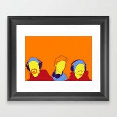 bonum sonos. Framed Art Print