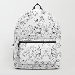 Skull Garden Demask Backpack