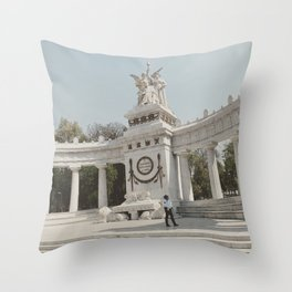 Hemiciclo a Juarez Throw Pillow
