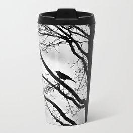 Bird Silhouette Metal Travel Mug