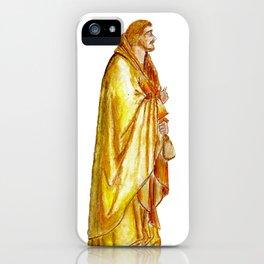 Life of Christ 'Judas Betrayal' figure interpretation iPhone Case