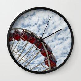 Summer's Cycle Wall Clock