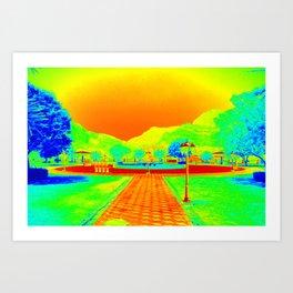 Themal art 039 Art Print