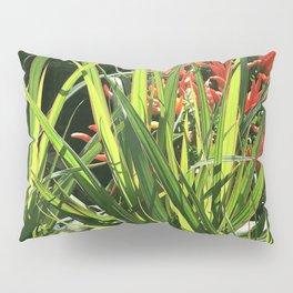 Garden Floral With Lush, Lavish Leaves Pillow Sham