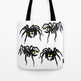 Spiders Tote Bag