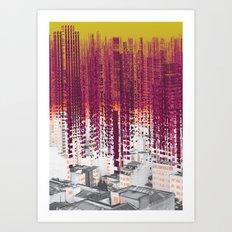 Fragment II Art Print