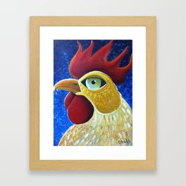 Fire Kock Framed Art Print