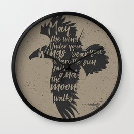May The Winds Wall Clock