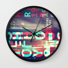 GLITCH CITY #76: West Hollywood Wall Clock