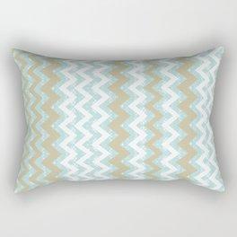 Chevrons and Dots Rectangular Pillow