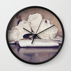 Silver Spoon  Wall Clock
