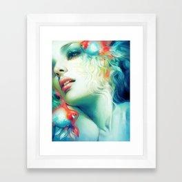 Scale Framed Art Print