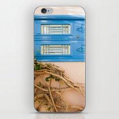 Blue Door in Chania, Crete iPhone & iPod Skin