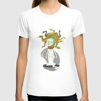 medusa T-shirts featuring Medusa by Rod Perich