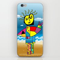 surfer iPhone & iPod Skins featuring Surfer by Moisés Ferreira