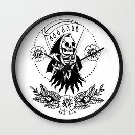 Garden Reaper Wall Clock