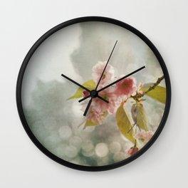 Twilight in the Garden Wall Clock