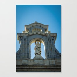 Almudena Cathedral, Madrid Canvas Print