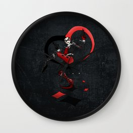 Quinn of Fools Wall Clock