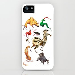African animals 2 iPhone Case